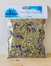 New Hope Hemp Terpene ( Gorilla  ) infused Blue Lotus herbal  blend ( Relaxing )