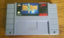 LORD OF THE RINGS --- SUPER NINTENDO