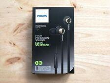 Genuine Philips TX2  In-Ear Natural Sound Headphones Earphones with Mic (Black)