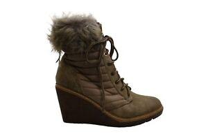 Zigi Soho Women's Shoes Ames Almond Toe Ankle Cold Weather, Taupe, Size 8.5 IMPw