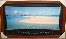 KEN DUNCAN PANOGRAPHS - DAYDREAM ISLAND WHITSUNDAYS PRINT FRAMED