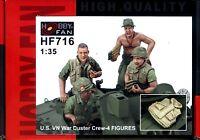 Hobby Fan 1/35 HF-716 US Amry M42 Duster Crew (Vietnam War) - 4 Figures