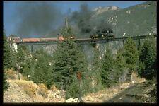182043 Shay Locomotora Nº 14 cruza el caballete en Georgetown A4 Foto Impresión