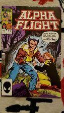 Alpha Flight #13 NM/9.4 1984 Marvel Comics, Wolverine appearance