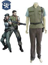 Resident Evil Chris·Redfield S.T.A.R.S. cosplay costume custom any size hot
