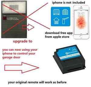 Gliderol Garage Door Remote Glidermatic Deluxe Motors iphone receiver control