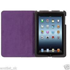 GENUINE Griffin Moxy Zebra Slim Folio Case Cover iPad Mini 2 3 Black/Purple NEW