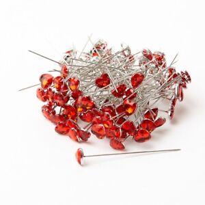 Diamond Heart Shape Pins Pack of 100 Smithers Smithers Oasis Wedding Floristry