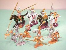 Plastic Medieval Plastic Knights Set No. 21 New In Package!