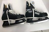 Hockey Ice Skates Bauer Authentic And Proud 33 Impact Youth Size M8 Slightly Use