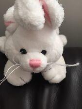 Gund contribuirebbero Bianco Bunny Rabbit Peluche Giocattolo morbido Piumone PELUCHE LAPIN Hase c1