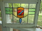 HA-155A+Older+Leaded+Stained+Glass+Window+F%2FEngland+20+1%2F4+X+16++++3+Available