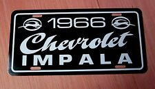 1966 Chevrolet IMPALA license plate car tag 66 Chevy super sport 327 ss 396
