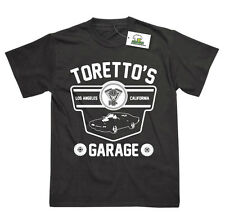 Toretto's Garage Inspired by Fast And Furious Printed T-Shirt