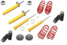 sport suspension lowering kit springs shocks Series 5 BMW E39 40/30 4 bearings