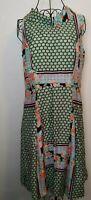 Beautiful Vintage Style 40's- 50's vibe  Dress, satin feel, Bertha collar.