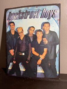 1998 Backstreet Boys World Tour Program Guide Souvenir Rare Memorabilia