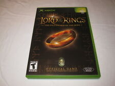The Lord of the Rings: Fellowship of the Ring (Microsoft Xbox) Complete LN Mint!