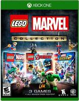 LEGO MARVEL COLLECTION XBOX ONE NEW! SUPER HEROES, 2, AVENGERS! 3 GAMES! HULK