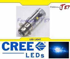 CREE LED Bulb 30W H6M P15d-25-1 Blue 10000K Head Light Scooter ATV UTV Bike