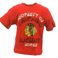 NHL Chicago Blackhawks T-Shirt Official Infant Toddler Size T-Shirt New With Tag