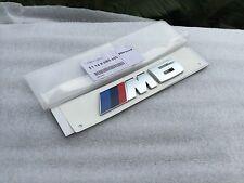 Emblem Badge Rear Chrome Genuine OEM for BMW M6 F12 F13 E63 E64 XDrive Sport