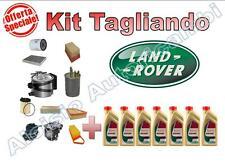 KIT TAGLIANDO OLIO CASTROL EDGE 5W30 + FILTRI LAND ROVER FREELANDER 2 TD4 SD4*