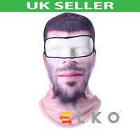 Balaclava Biker Full Face Mask Neck Warmer Tube Skull Scarf Bandana Hat Scarf