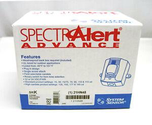 System Sensor SRK SpectrAlert Advance Outdoor Strobe, Red