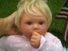 Vintage Lee Middleton Newborn Vinyl  Thumbsucker Baby Doll Infant Numbered