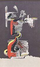 JULIO Gonzalez montato Mourlot litografia, Berggruen 1957, PICASSO interesse