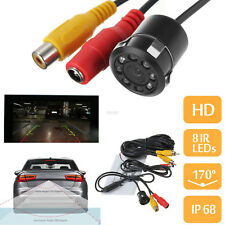 Car Rear View Reverse Backup Parking Camera 8 LED HD Waterproof Night Vision 12V