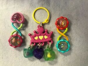 Infantino princess jewel crown Infant Baby Toy Teether Rattles Car Seat Stroller