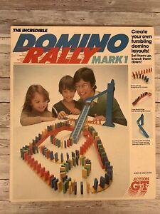 Retro The Incredible Domino Rally Mark 1 Action GT 1981