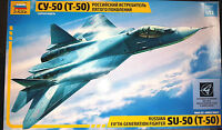 Sukhoi PAK T-50 Russian Stealth Fighter  - Zvezda Kit 1:72 7275 Nuovo