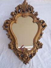 Gold Mirror Ornate Wall Mirror Oval Mirror Vintage Antique Style Mirror