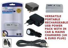 Nuevo Li-Ion Paquete de energía portátil con salida USB 2400mAh