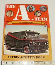 The A-Team Tv Show Action Coloring & Activity Book