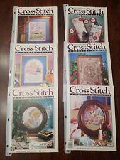 New ListingCross Stitch and Country CraftMagazines - lot of 6 Euc Jan 89- Dec 89