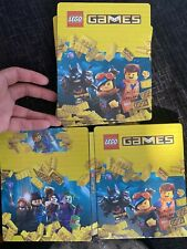 LEGO GAMES STEELBOOK ONLY *NO GAME* PS4/XBOX ONE