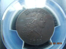 1793 Chain Large Cent Pcgs Au Details, S-3, B-4, R-3 Spectacular Coin