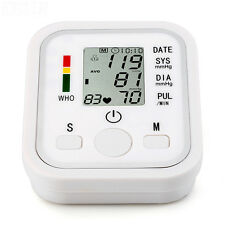 Smart Arm Cuff LCD Digital Blood Pressure Heart Beat Pulse Monitor High Quality