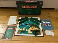 Vintage Spears Scrabble Original Board Game 1988. COMPLETE EXCELLENT CONDITION.