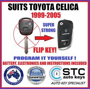 FOR TOYOTA CELICA REMOTE FLIP TRANSPONDER KEY 1999 2000 2001 2002 2003 2004 2005