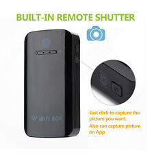 Mini Wireless Wifi Box Endoscope USB Borescope Cam+2000mAh Battery For Phone PC