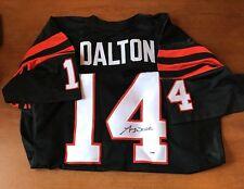 Andy Dalton Signed Cincinnati Bengals Jersey PSA/DNA Cert ROOKIE GRAPH