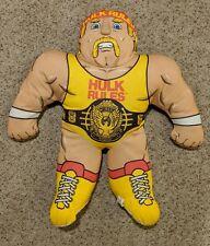 "Vintage 1990 Hulk Hogan 22"" WWF Wrestling Buddies  Tonka"