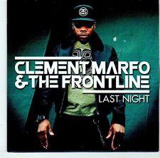 (EL795) Clement Marfo & The Frontline, Last Night - 2012 DJ CD