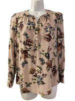 Daniel Rainn DR2 from Stitch Fix Womens Mixed Floral Print Tunic Shirt Top XS