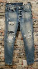 KITH CLASSICS VARICK DESTROYED DENIM LIGHT BLUE Size 30 Jeans Pants Limited